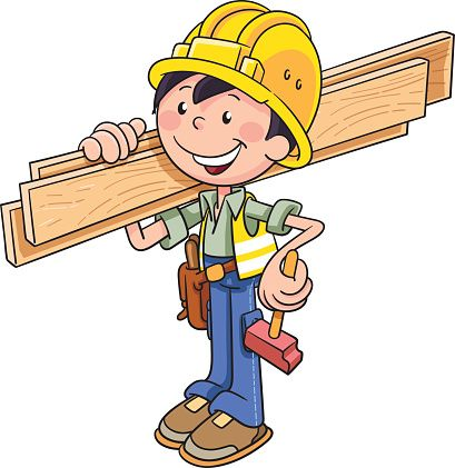 Collection of Builder clipart.