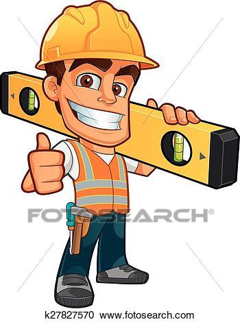 Builder Clipart.