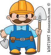 Builder Clipart and Illustration. 197,738 builder clip art vector.