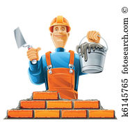 Builder Clipart and Illustration. 197,738 builder clip art vector.