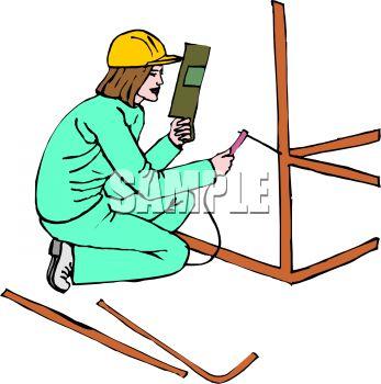 Female Builder.