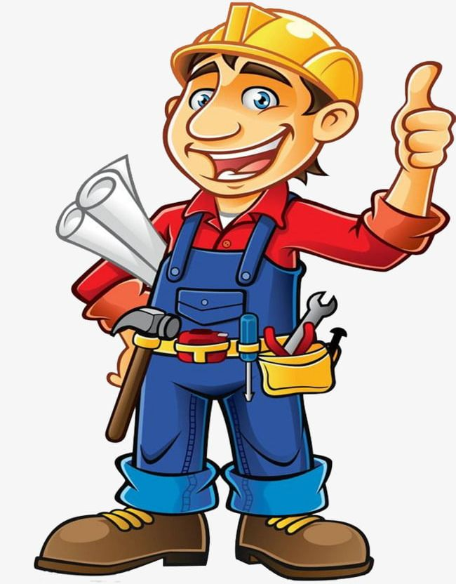 Construction Worker PNG, Clipart, Builder, Cartoon, Cartoon.