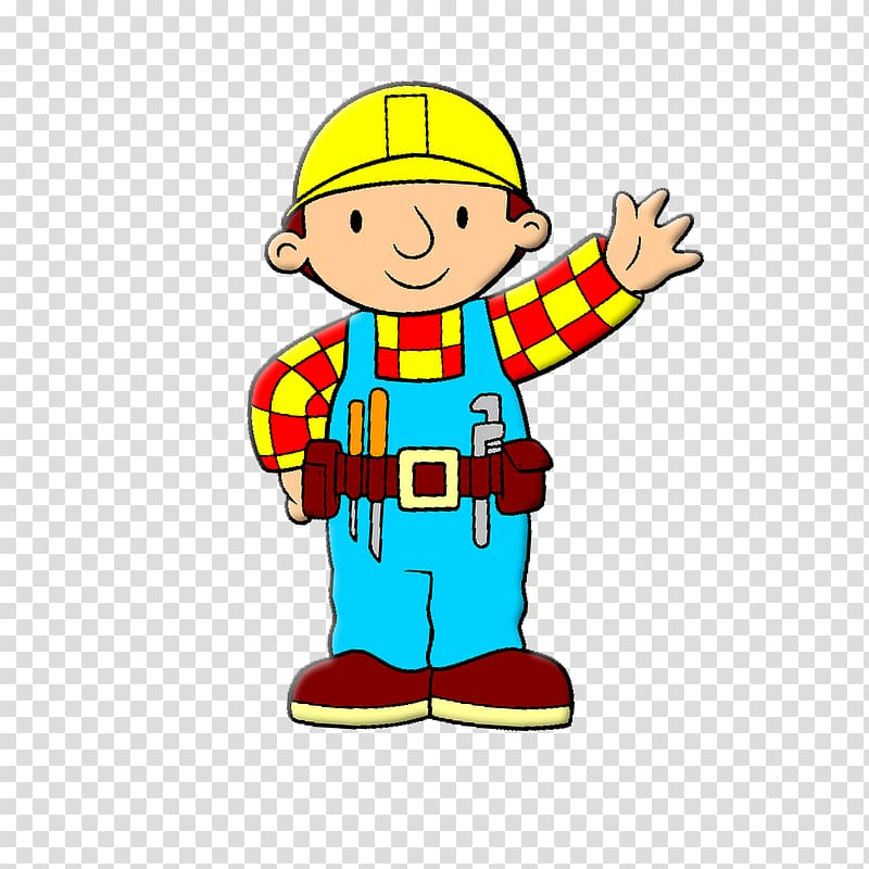 Drawing , Bob The Builder transparent background PNG clipart.