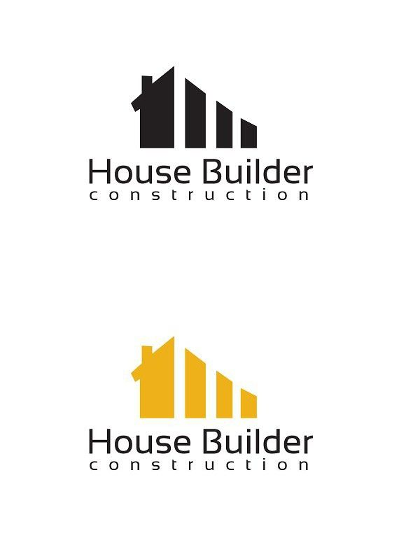 House Builder Logo Template.