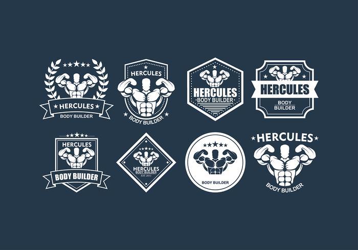 Hercules Fitness Logo Vector.