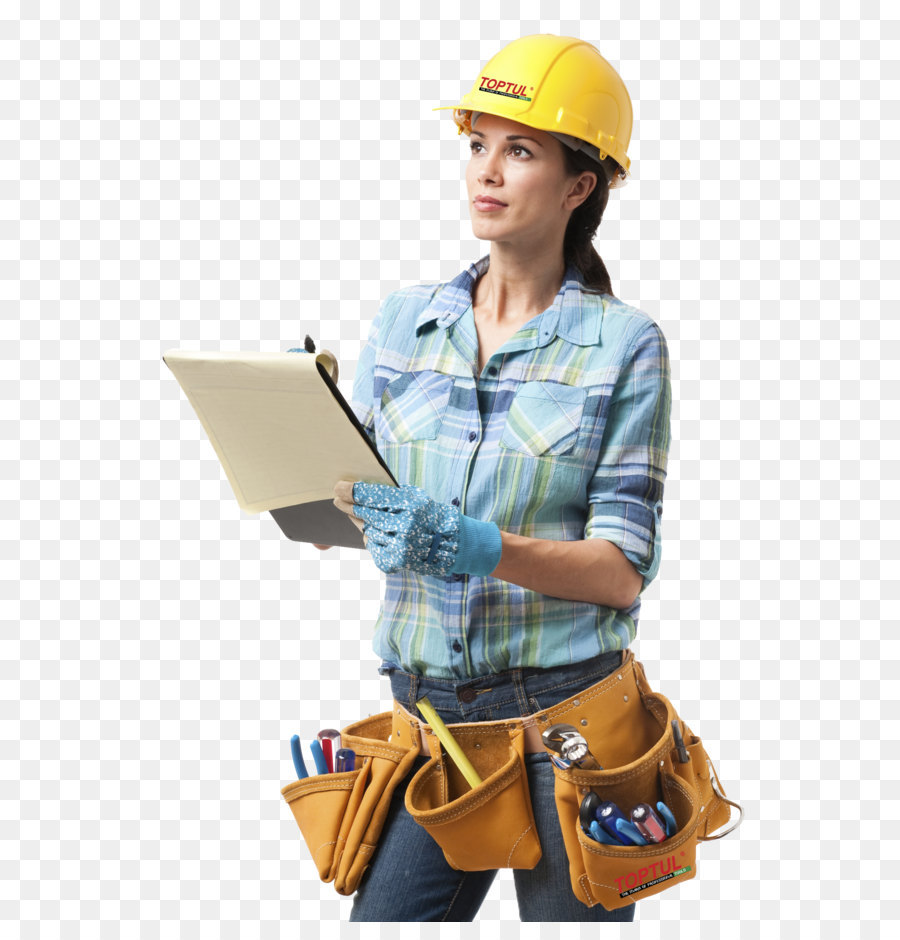 Download Free png Architectural engineering Construction worker.