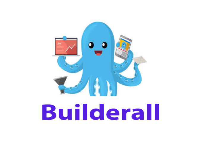 design funnels with builderall website.
