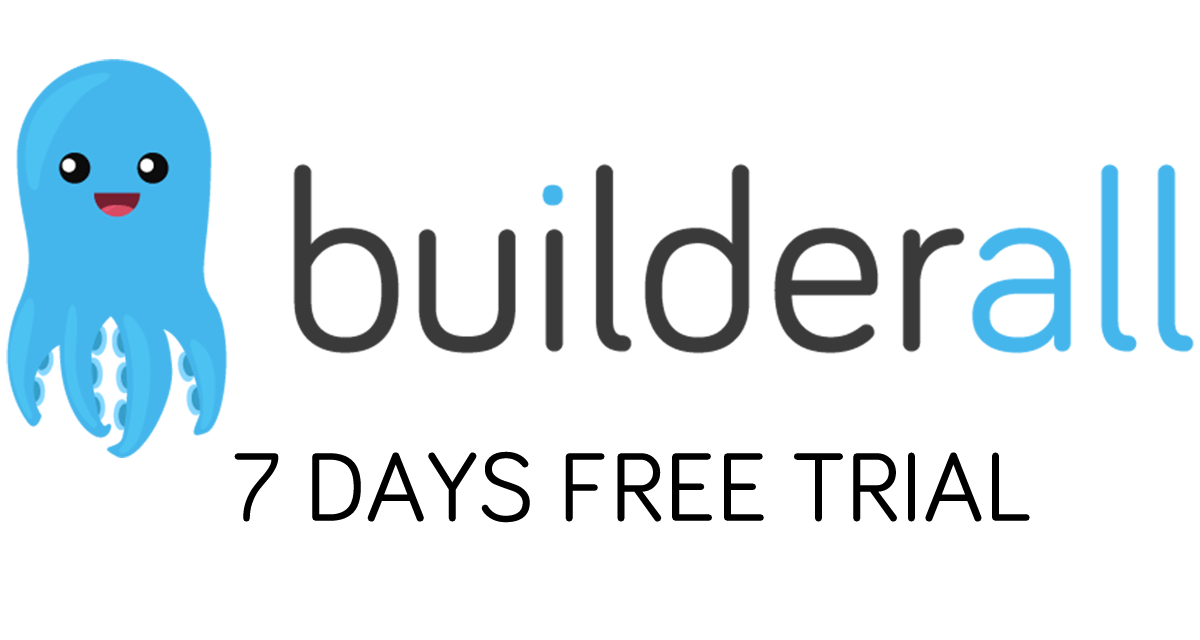 Builderall, REGISTER 7 DAYS FREE.