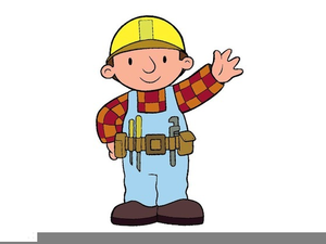 Clipart Builders At Work.