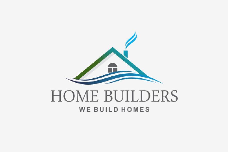 Home Builders Logo V2 ~ Logo Templates ~ Creative Market.