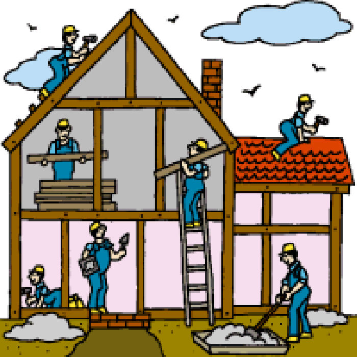 Building a house clipart 6 » Clipart Station.
