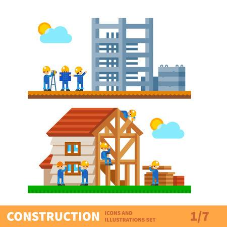 238,733 House Construction Stock Illustrations, Cliparts And Royalty.