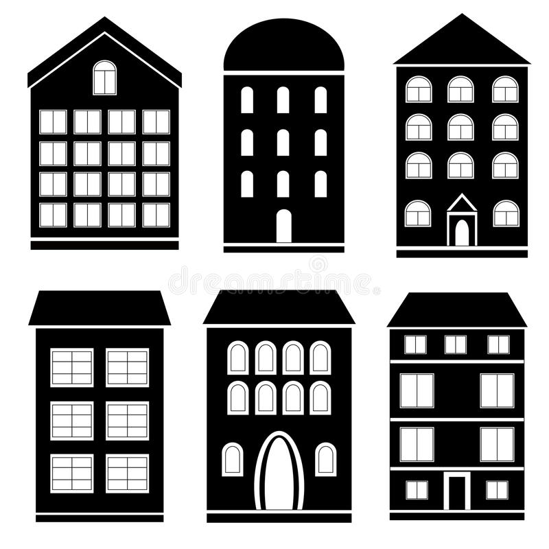 Building black and white clipart 2 » Clipart Station.