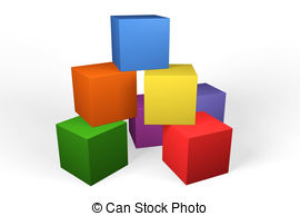 Building block clipart