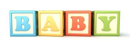 Baby Building Blocks Clipart.