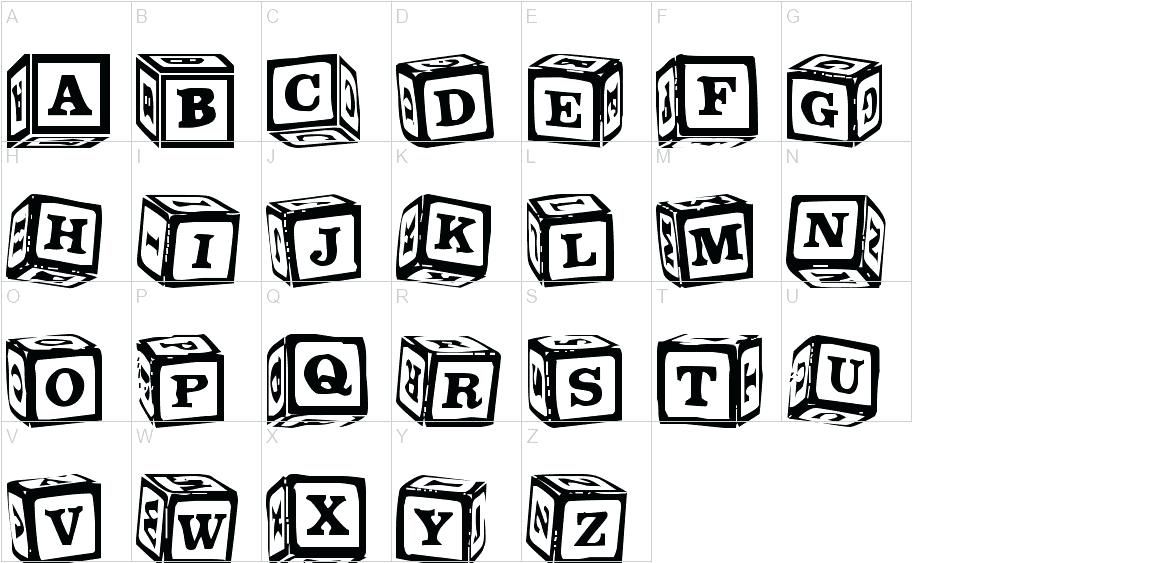 Image result for block letters fonts on building blocks.