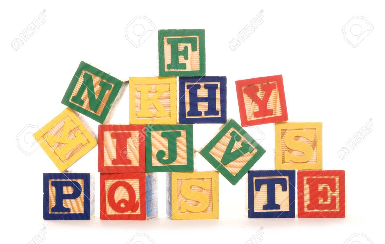 letter building blocks studio cutout.