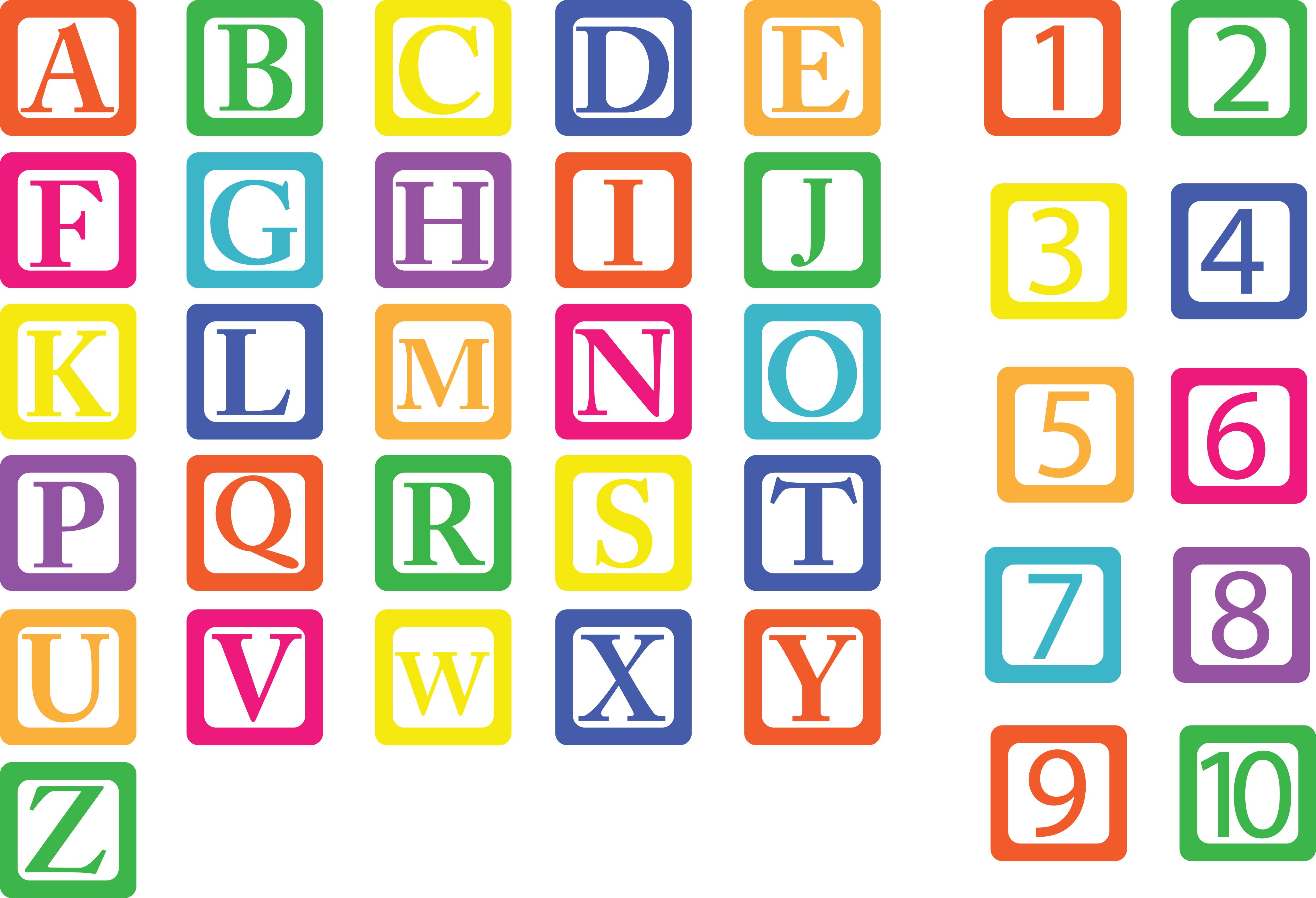 BUILDING BLOCKS SVG File, Block Alphabet Svg Files, Building Blocks.