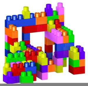 Building Blocks Cliparts.