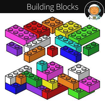 Building Blocks Clipart.