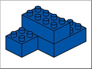 LEGO ClipArt, Building Blocks, FREE CLIPART, Blue Block, Clip Art.
