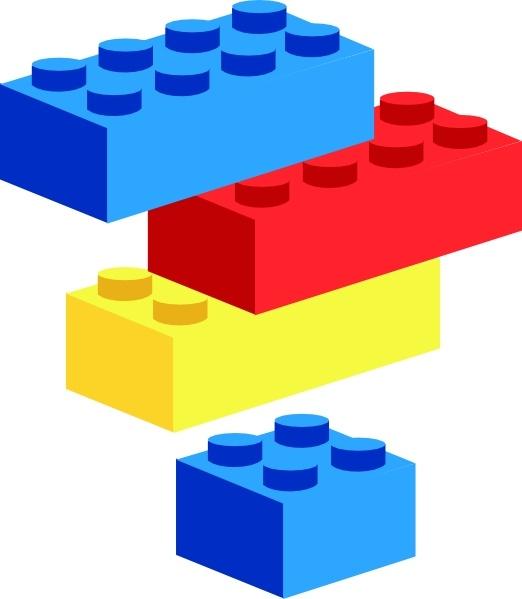 Building Blocks Clipart Images.