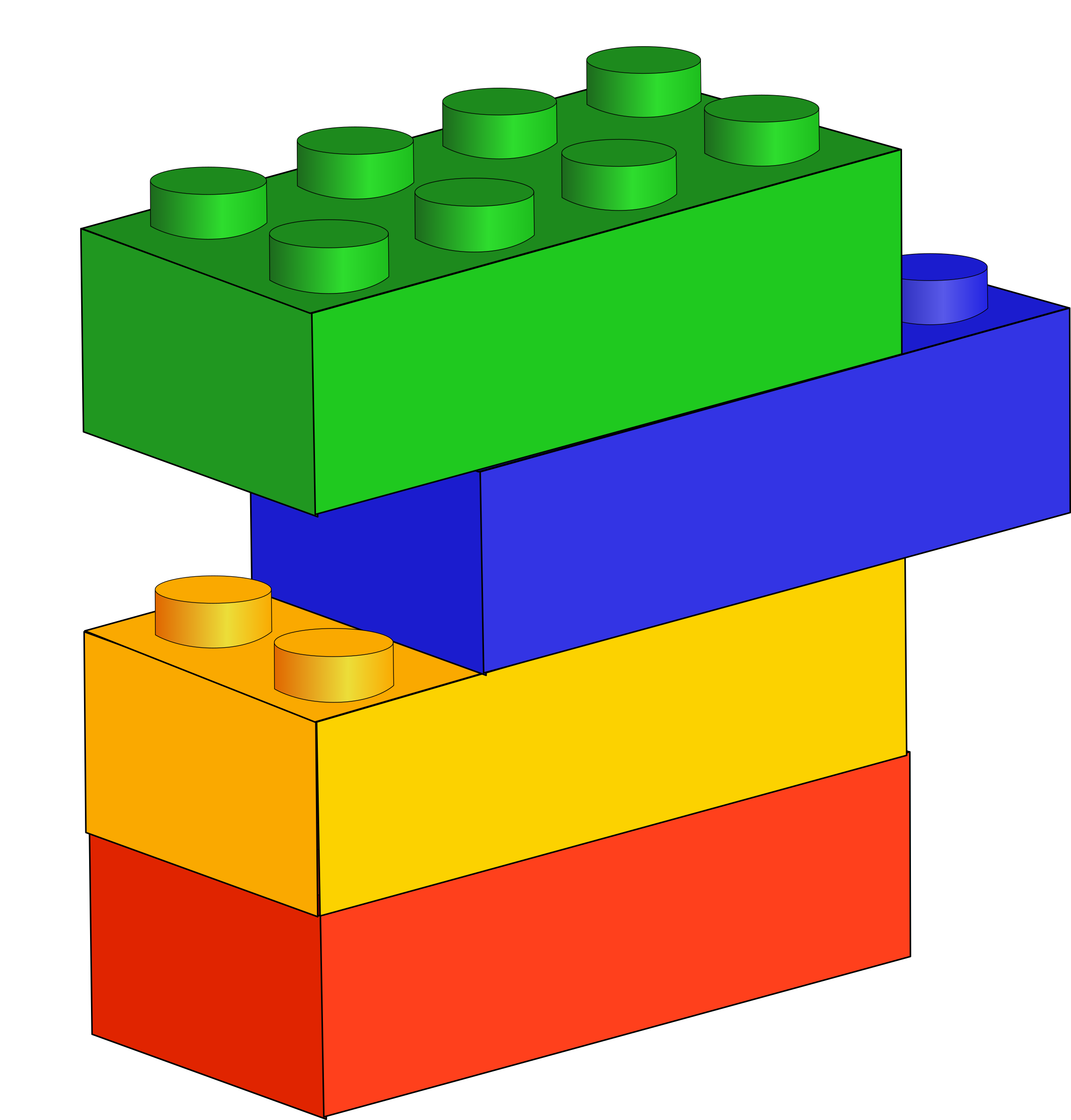 Building Blocks Clipart.