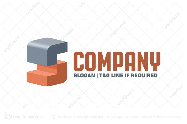 Exclusive Logo 100114, Blocks S Logo.