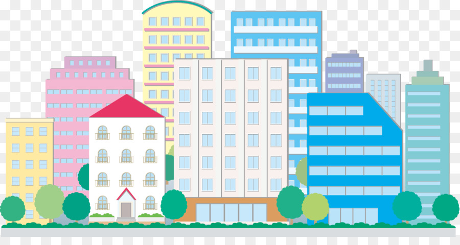 City Background png download.