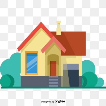 Cartoon House PNG Images.