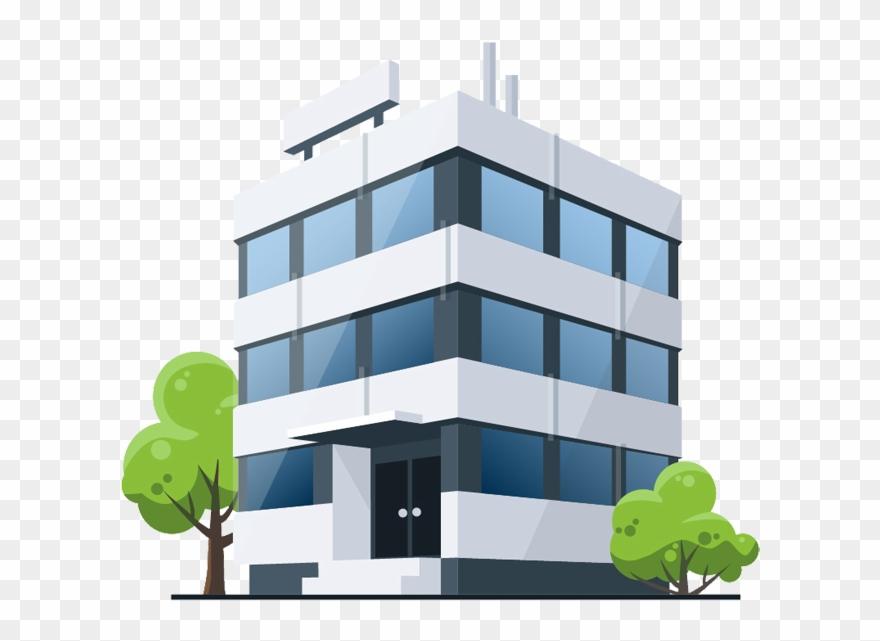 Building Medical Cartoon Office Royalty.