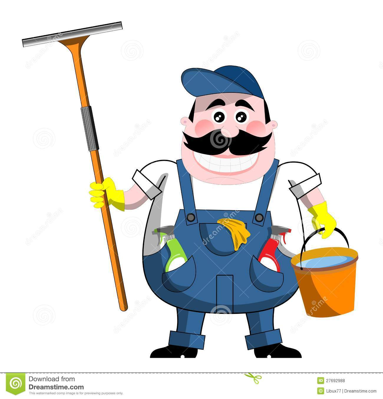 Building Cleaner Clipart Clipground