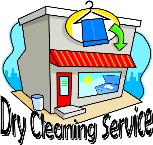 Dry cleaner clipart.