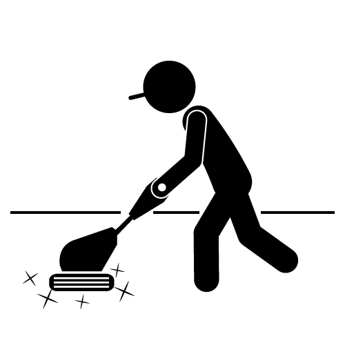 Building cleaning staff.