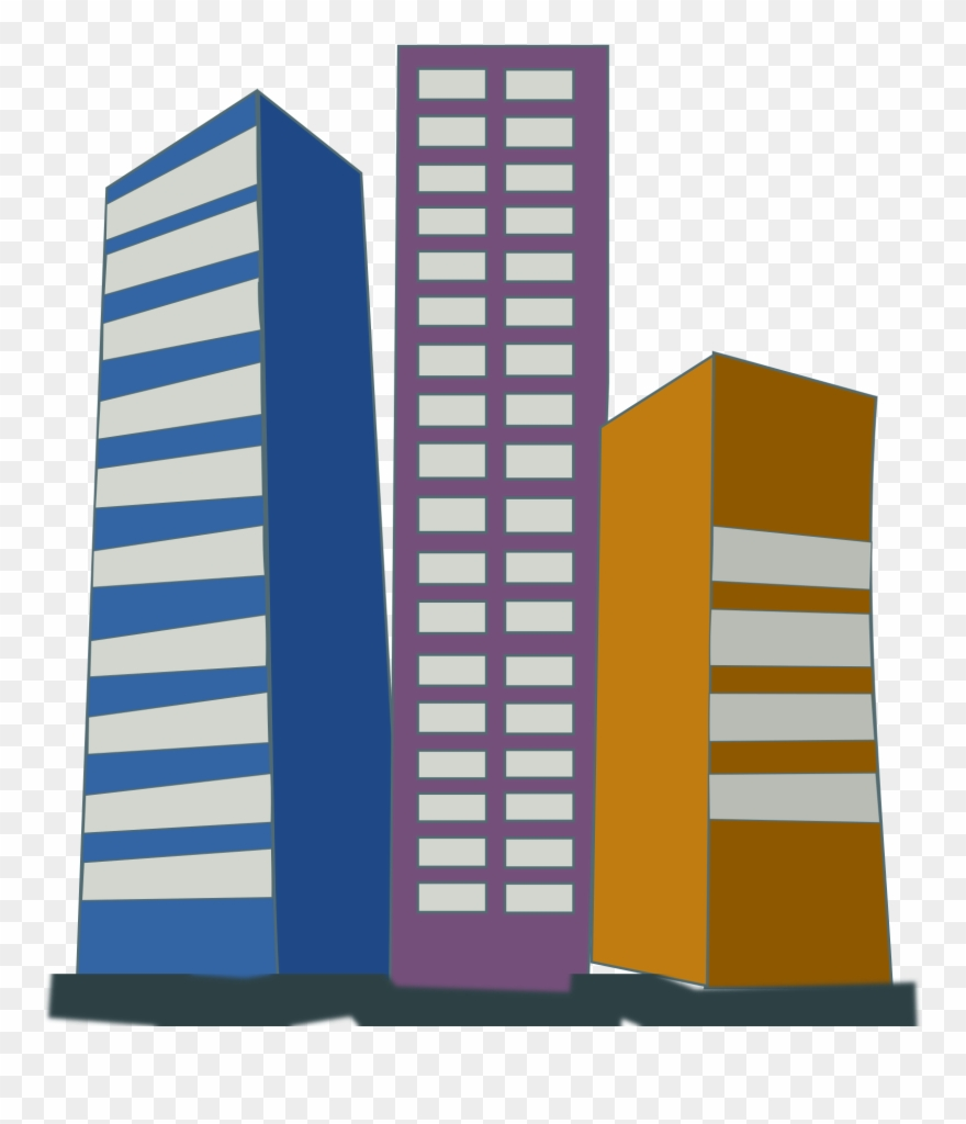 Clip Art Freeuse Stock Buildings Vector Office Block.