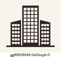 Royalty Free Office Building Clip Art.