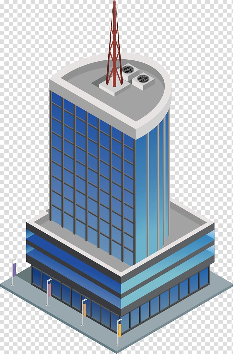 Building Computer file, Building transparent background PNG.