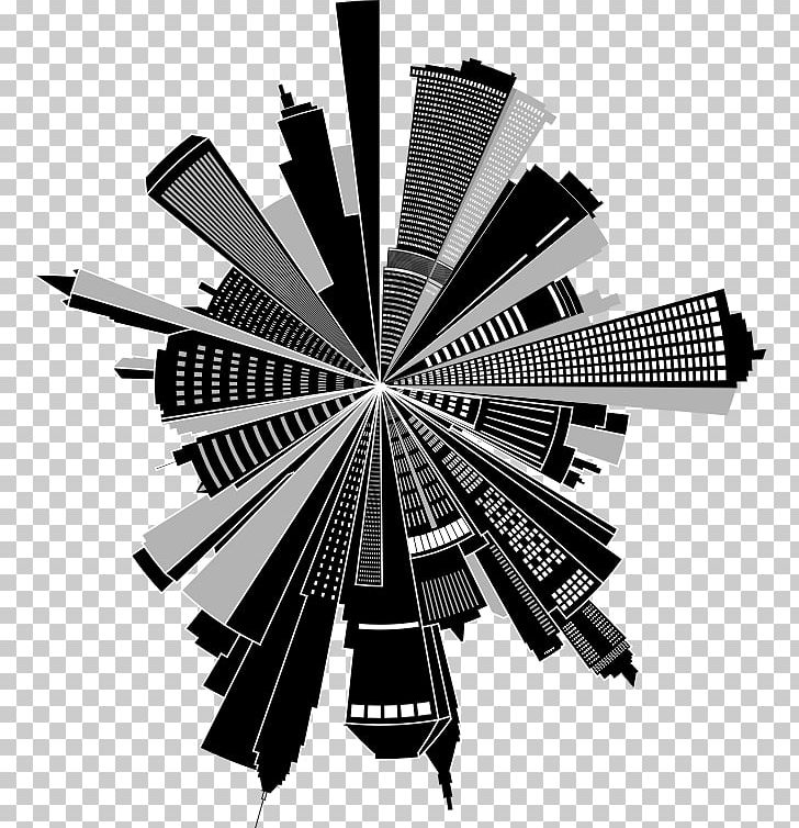 Cityscape Skyline PicsArt Photo Studio Building PNG, Clipart.