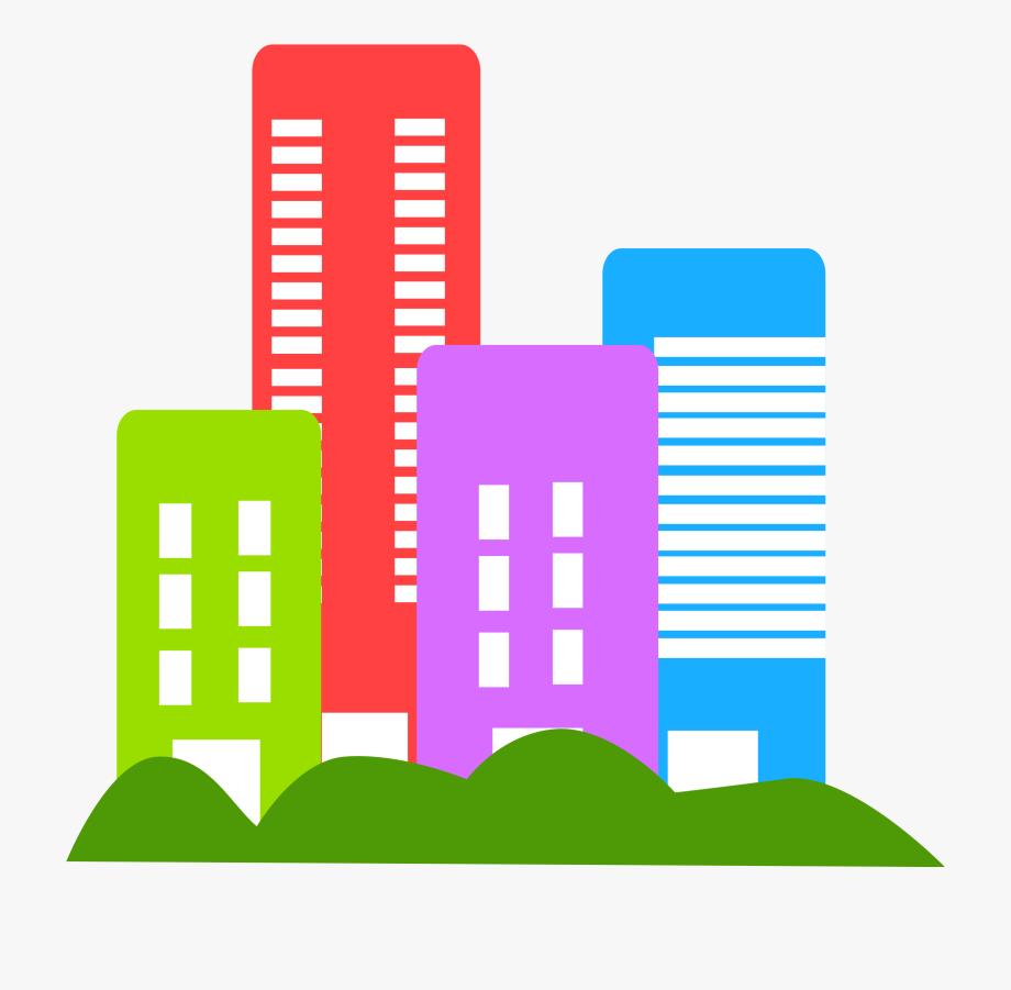 Buildings Clipart.