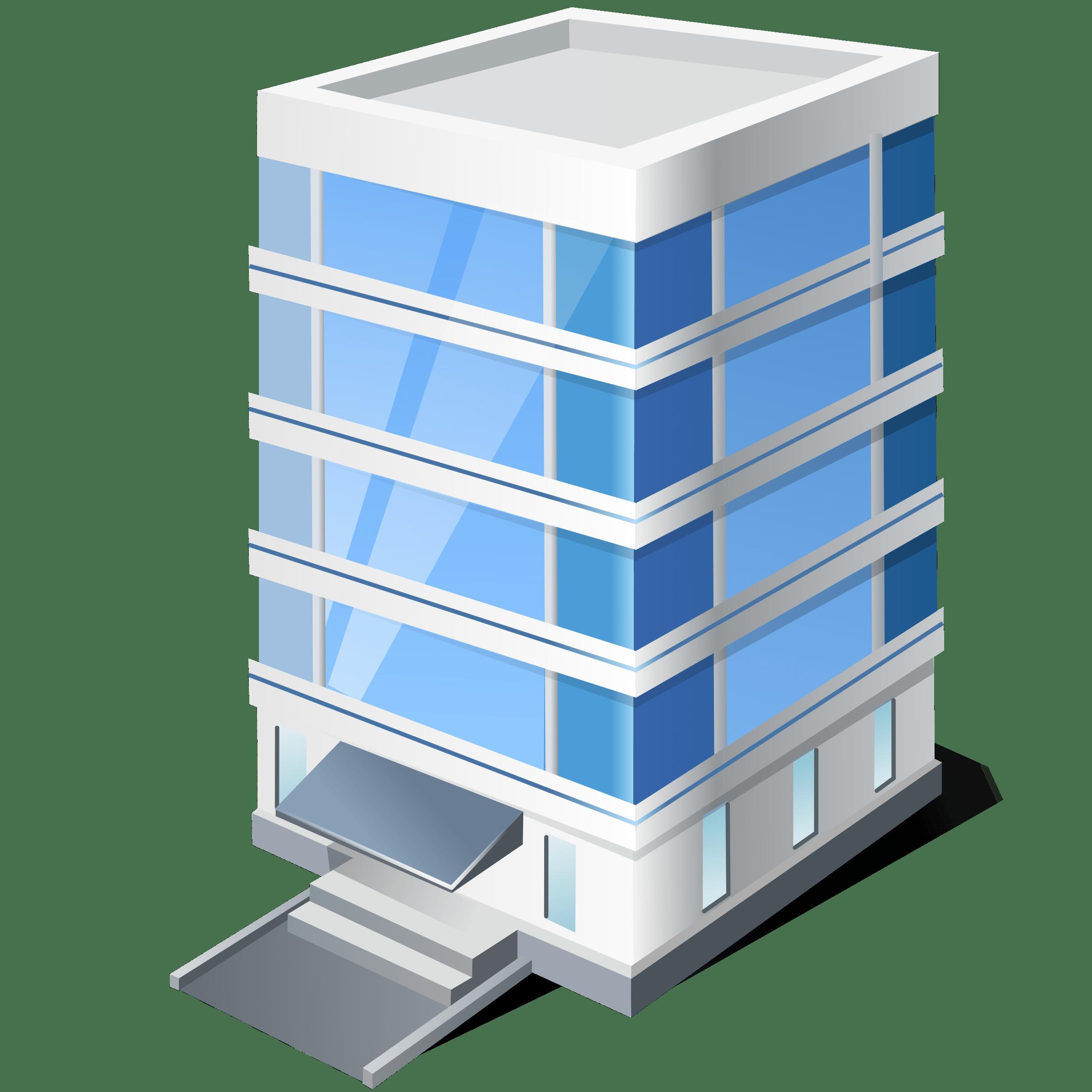 Office Building Clipart transparent PNG.