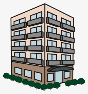 Apartment Building Png PNG Images.