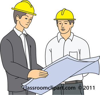 Construction Plans Clipart.