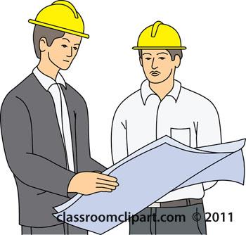Construction Plans Clipart.