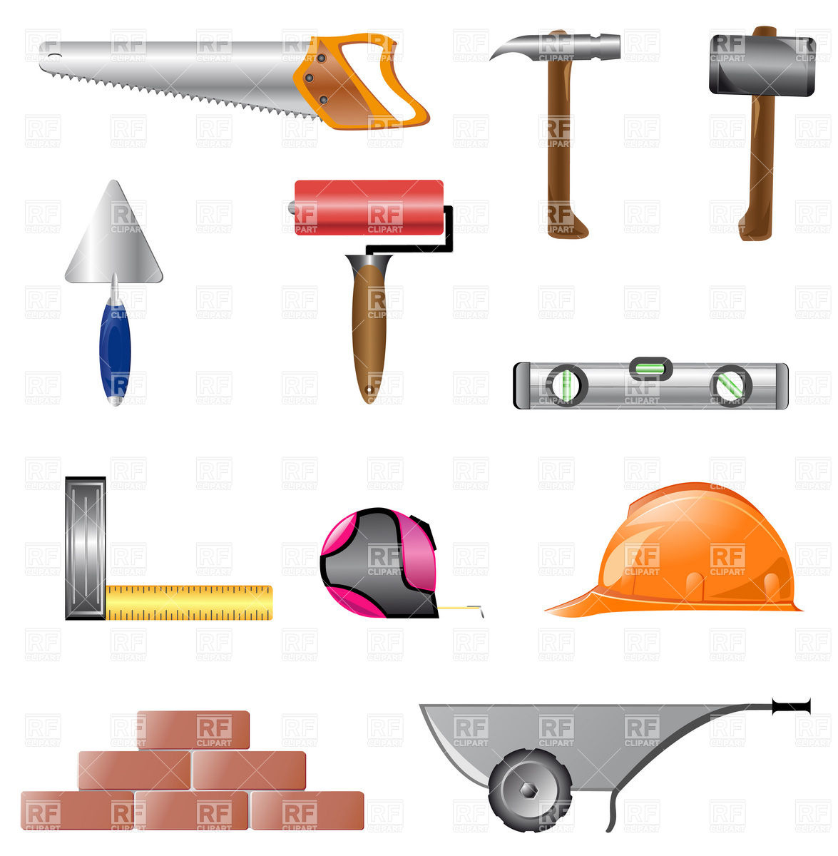 Building Construction Clipart.