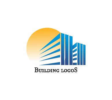 Vector building construction logo idea download.