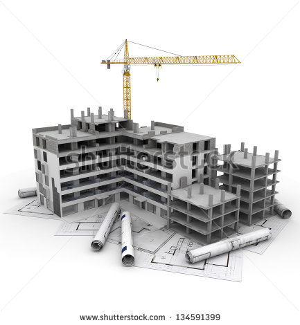 Download Free png Building under construction clipart.