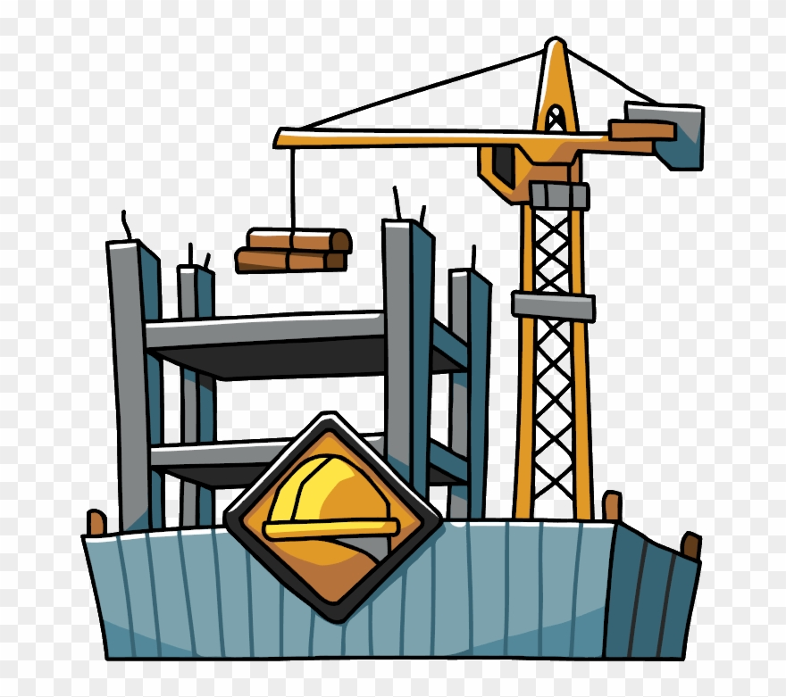 Freeuse Stock Building Construction Clipart.