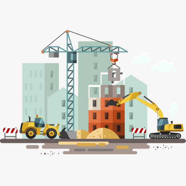 Clipart Building Construction & Free Clip Art Images #22621.