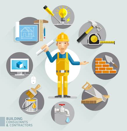 71,499 Contractor Stock Illustrations, Cliparts And Royalty Free.