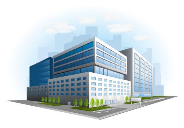 Commercial building design.